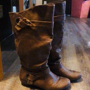 33333e65e8fa Yuu brown boots